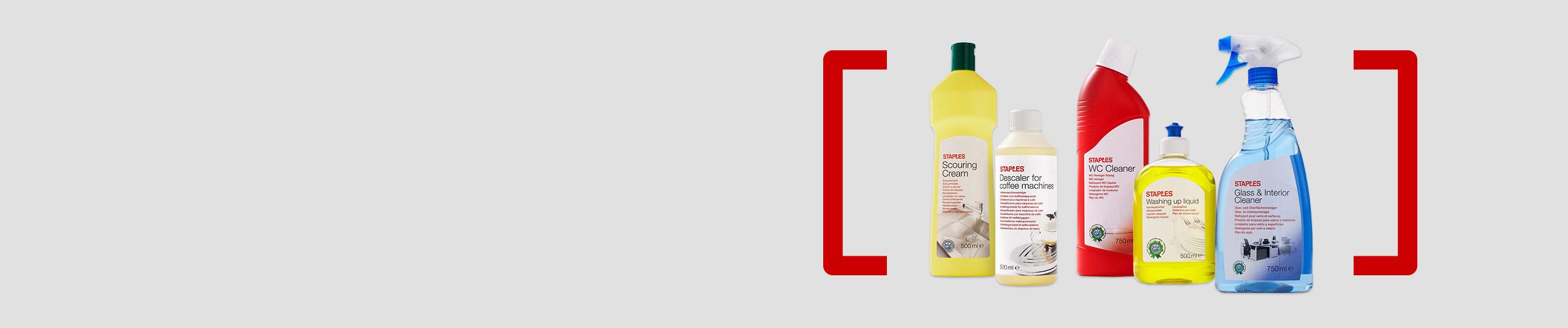Seleção de detergentes Staples