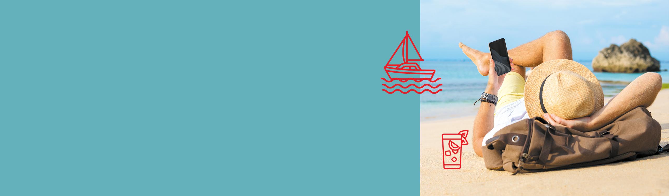Faça da tecnologia a sua praia