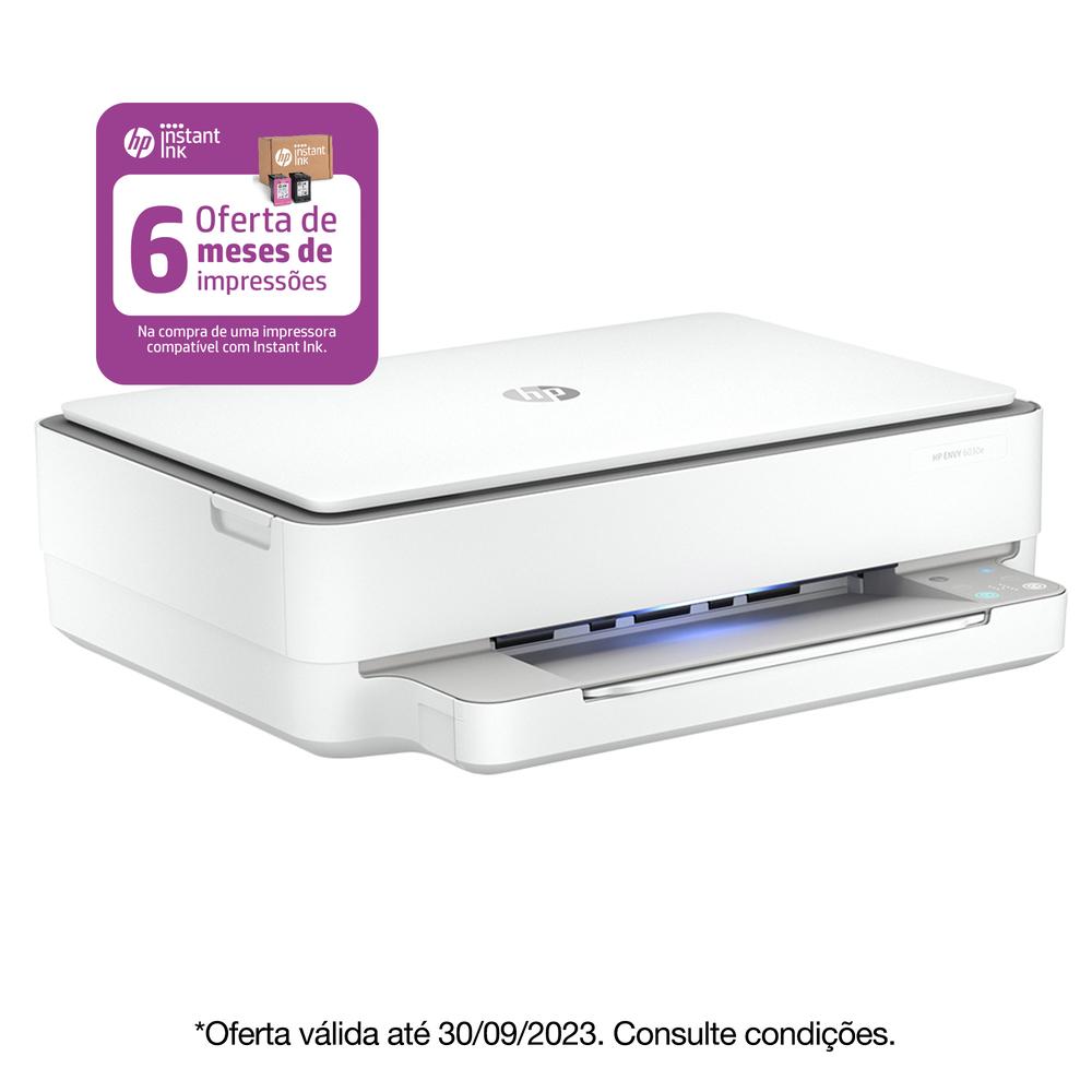 HP Multifunções Jato de Tinta Envy 6030e, A4, Wi-Fi