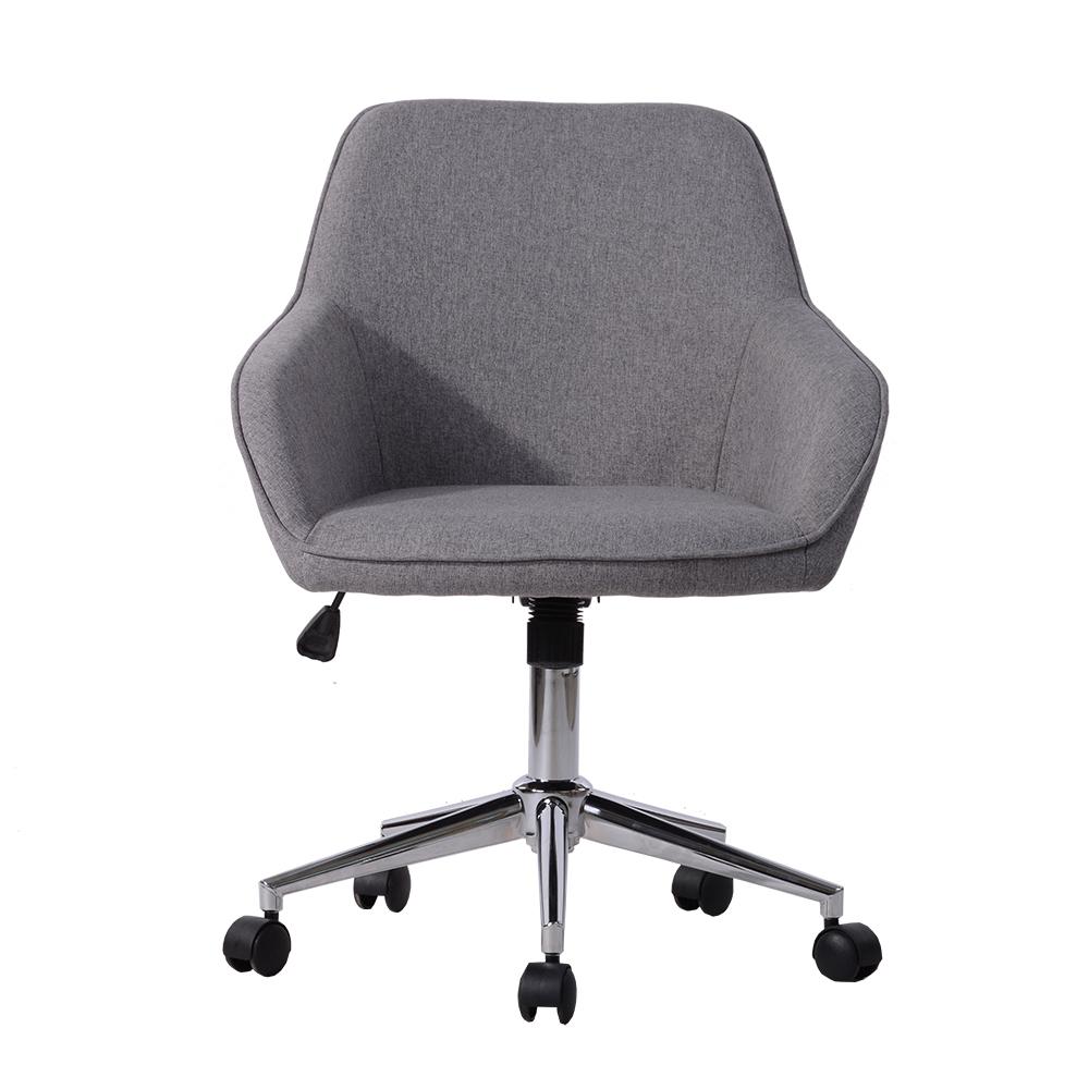Cadeira Operativa Baynes, Tecido, Cinzento