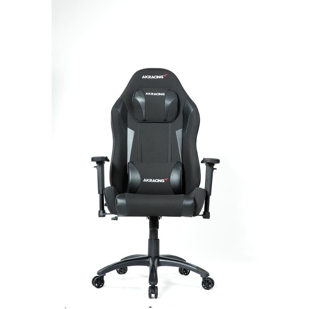 AKRACING Cadeira Gaming Core Ex- Wide P Carbono, Tecido, Preto