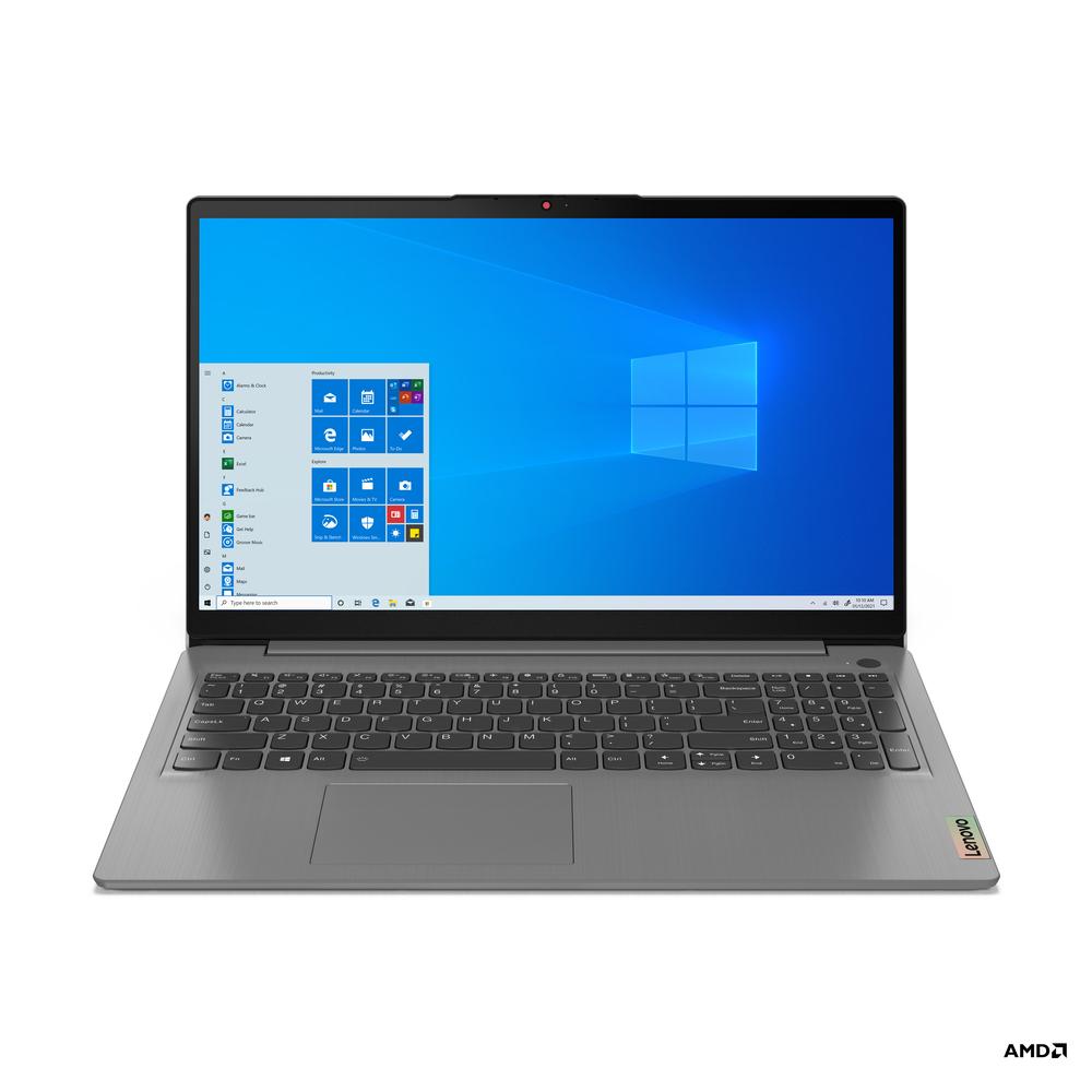 "Lenovo Portátil IdeaPad 3 15ALC6-834, 15,6"", AMD Ryzen™ 7 5700U, 16 GB RAM, 512 GB SSD, Cinzento"