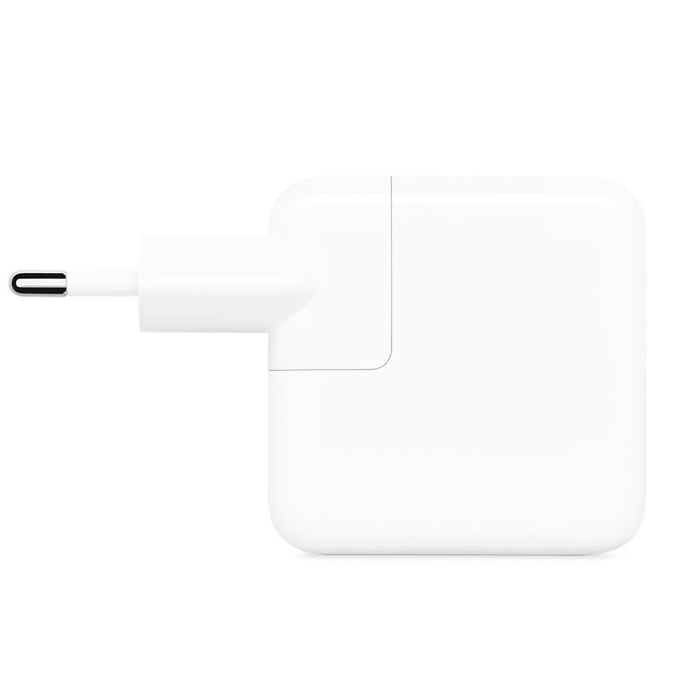 APPLE Adaptador de Corrente USB-C, 30 W, Branco