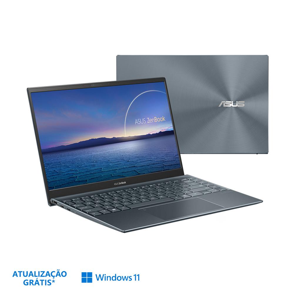 "ASUS Portátil Zenbook UX425EA, 14"", Intel® Core™ i5-1135G7, 8 GB RAM, 512 GB SSD, Cinzento"