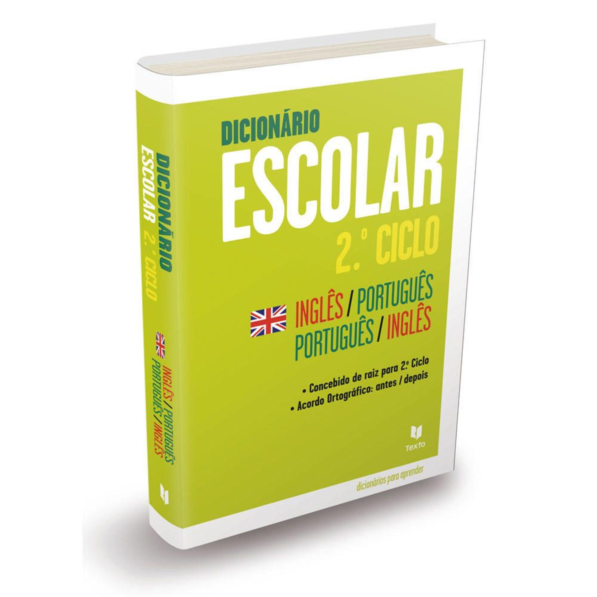 LEYA - LEYA Dicionário Escolar Português - Inglês e Inglês - Português, 2º Ciclo