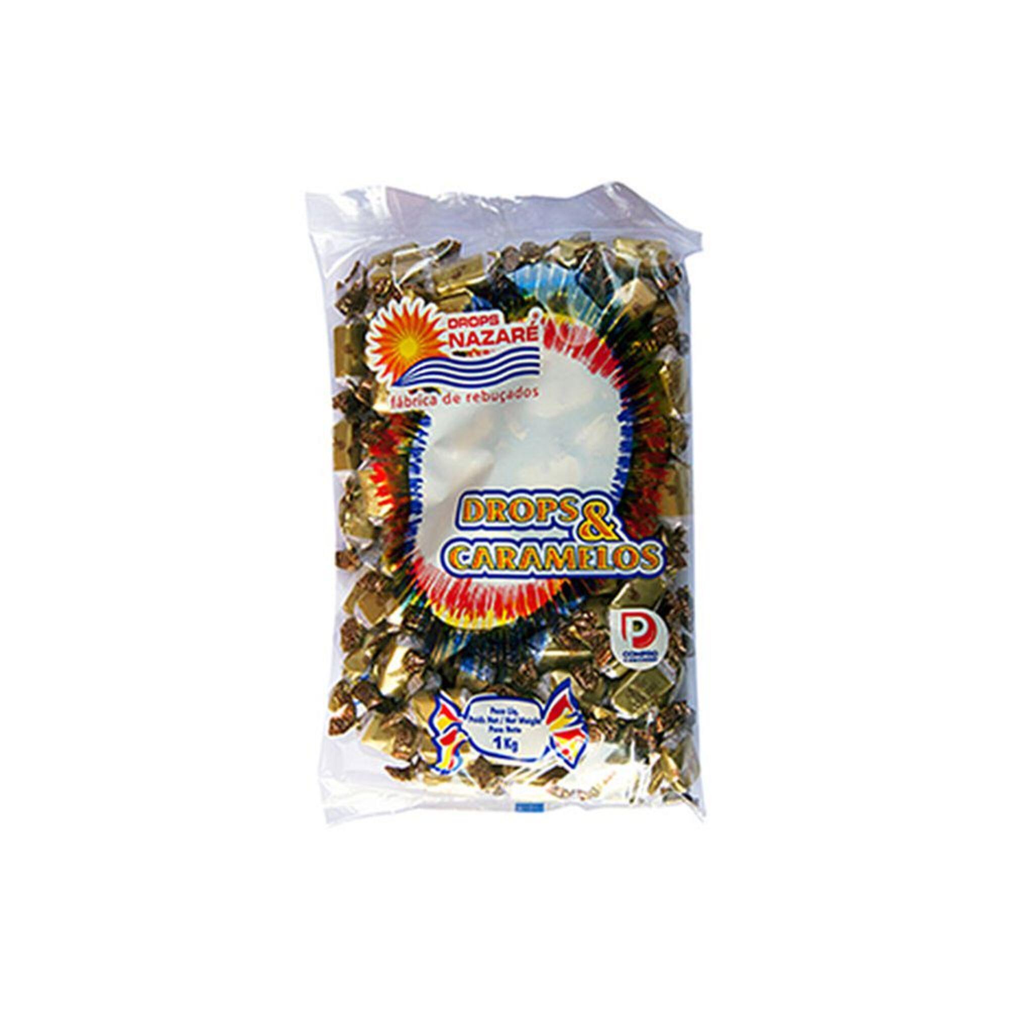 DROPS NAZARÉ - DROPS NAZARÉ Caramelos de Nata, 1 kg
