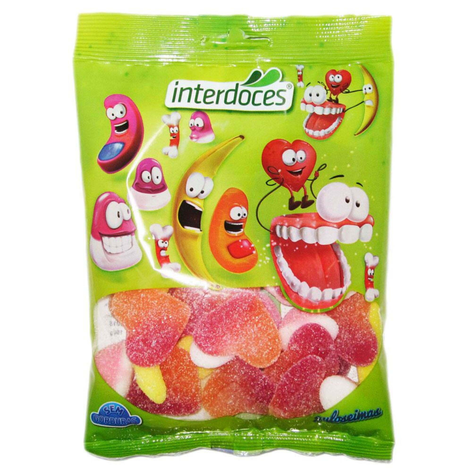 INTERDOCES - INTERDOCES Gomas Sortido Açúcar, 150 g