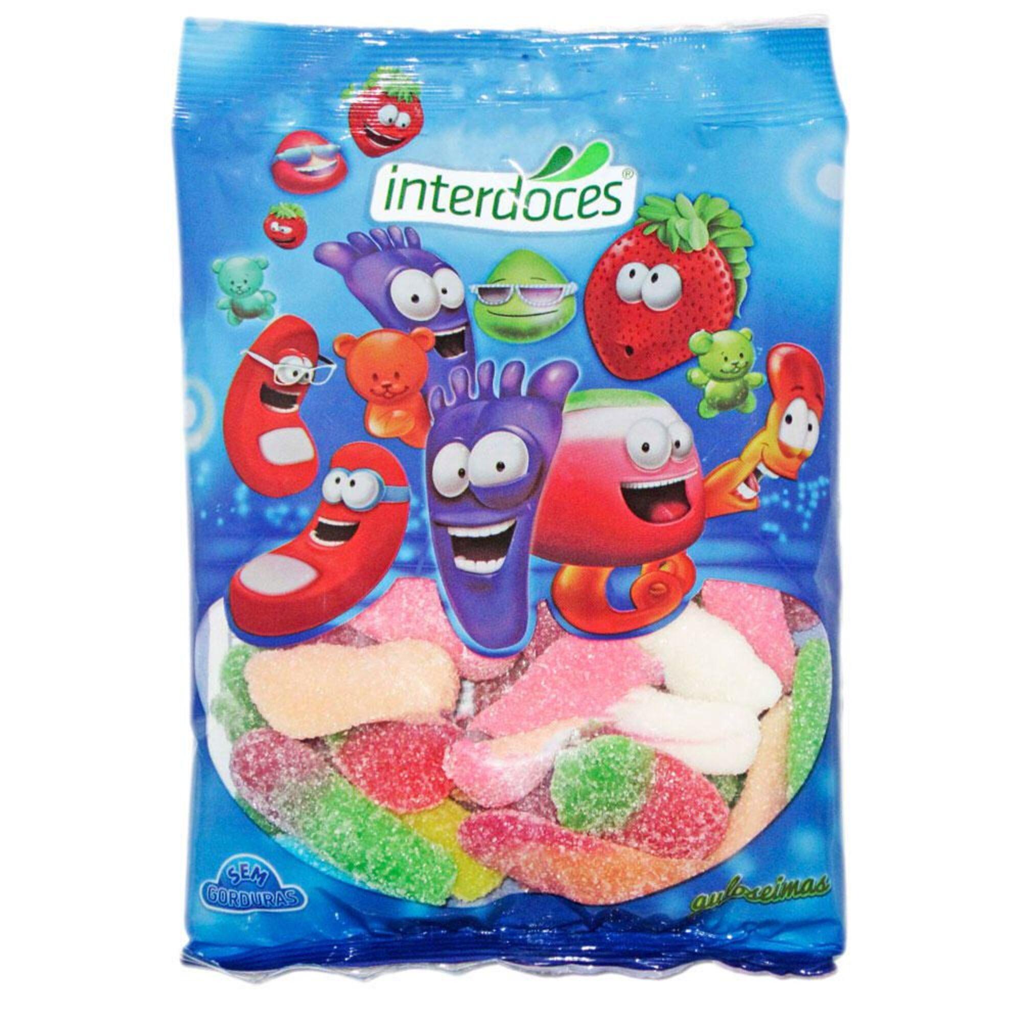 INTERDOCES - INTERDOCES Gomas Sortido Ácido, 150 g
