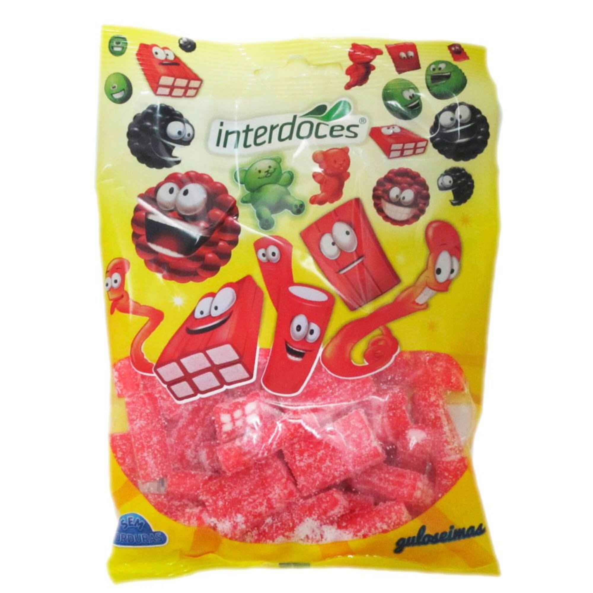 INTERDOCES - INTERDOCES Gomas Sortido Regaliz, 150 g