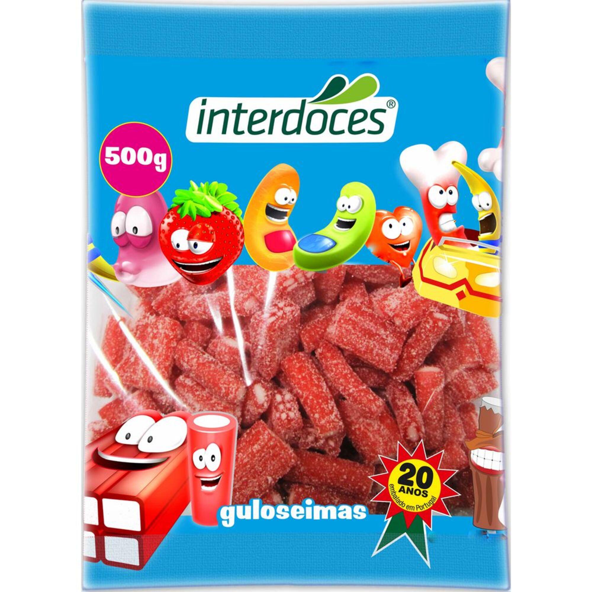 INTERDOCES - INTERDOCES Gomas Regaliz, 500 g, Sortido