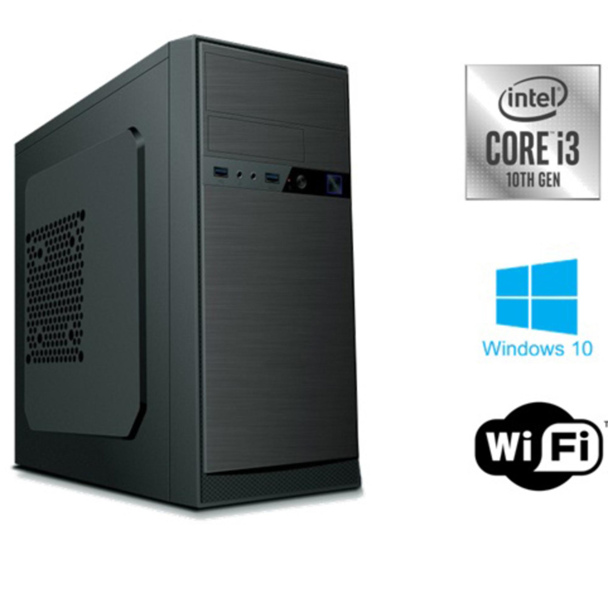 INSYS - INSYS Computador Desktop PowerNet, Intel® Core™ i3-10100, 8 GB RAM, 1 TB HDD SATA, Preto