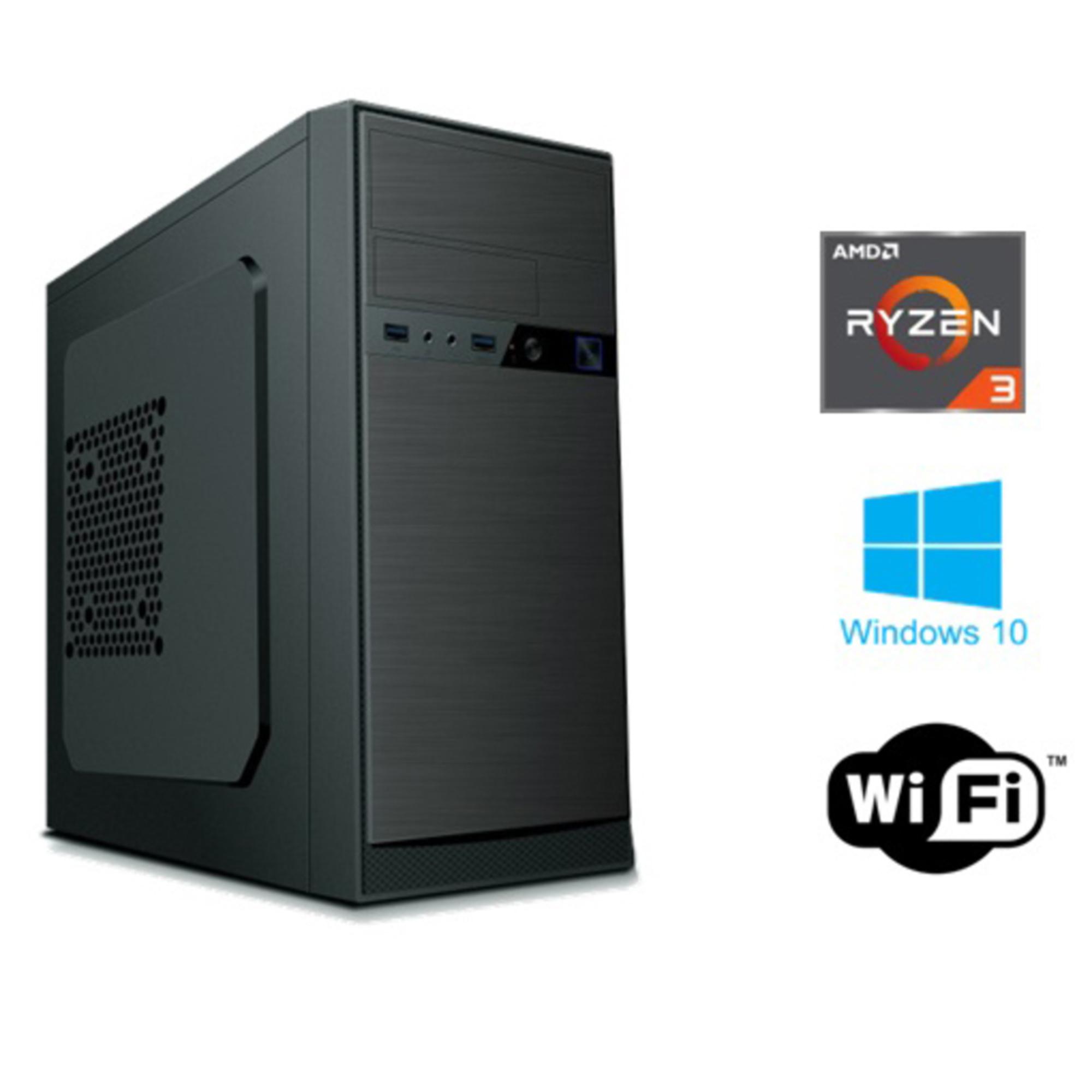 INSYS - INSYS Computador Desktop PowerNet, AMD Ryzen™ 3 3200G, 8 GB RAM, 1 TB HDD SATA, Preto