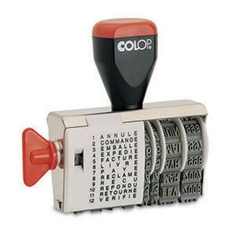 COLOP Datador com Textos Manual 343, 4 mm