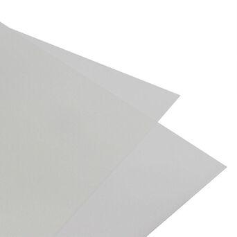 Polipropileno, 0.5 mm, 45 x 62 cm, Opalino