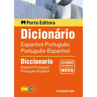 PORTO EDITORA Dicionário Mini Espanhol-Português Duplo