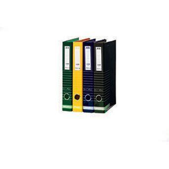 ANCOR Pasta de Arquivo Lombada Estreita Riscas, A4, Largura da Lombada 47 mm, Cartão, Azul