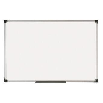 BI-OFFICE Quadro Branco Horizontal, Moldura Aro Alumínio Prateado, 1000 x 2000 mm
