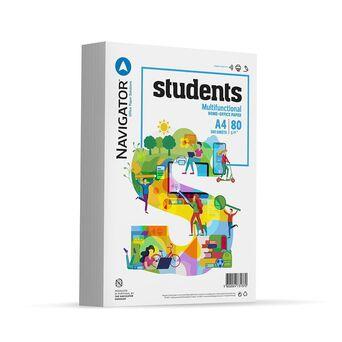 Navigator Papel Students, Multiusos, A4, 80 g/m², Branco
