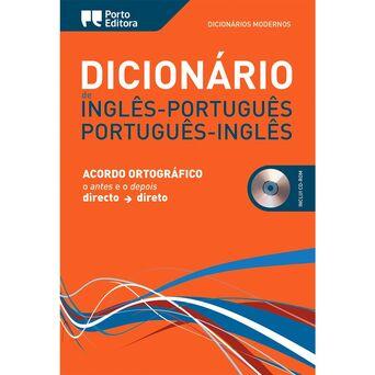 PORTO EDITORA Dicionários Modernos Inglês/Português e Português/Inglês