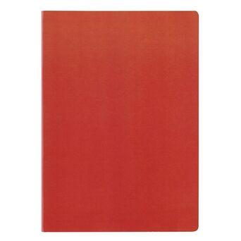 Staples Caderno Agrafado A4, 80 Folhas, Pautado, Vermelho
