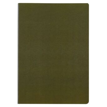 Staples Caderno Agrafado A4, 80 Folhas, Pautado, Verde