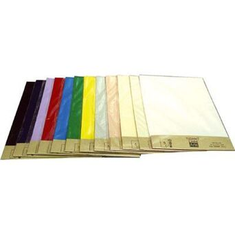FABRIANO Folha Tiziano, 21 x 29,7 cm, 160 g/m², Vermelho, 5 Unidades