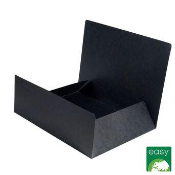EXACOMPTA Pasta A4 de 3 abas Nature Future® para 200 folhas, 400 g/m², cartão rígido, preto