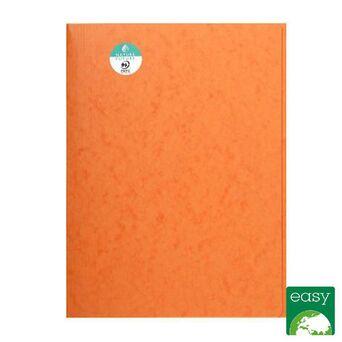 EXACOMPTA Pasta de 3 abas sem tiras Nature Future® para 200 folhas A4, 240 x 320 mm, cartão, cor de laranja
