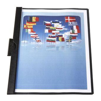 Staples Classificador com clip 30 folhas Preto