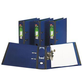 Staples Pasta de Arquivo com Alavanca BETTER™, A4, Lombada de 75mm, Capacidade para 560 Folhas, Polipropileno, Azul