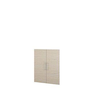 TVILUM Portas Estante Alta Sophie, 105,4 x 83,7 cm x 1,5 cm, Melamina, Carvalho