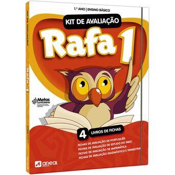 PORTO EDITORA Livro 'Kit de Avaliação Rafa 1' - 1º Ano