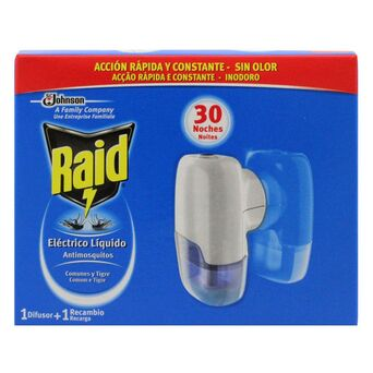 Raid Líquido Elétrico, 30 Noites, 21 ml