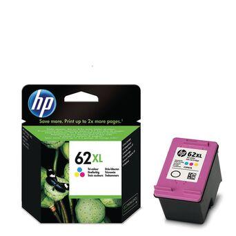 HP Tinteiro Original 62XL de Alto Rendimento, Cor, Individual, C2P07AE