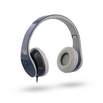 TNB Auscultadores Over-Ear Stream, Jack 3.5 mm, Cinzento e Azul