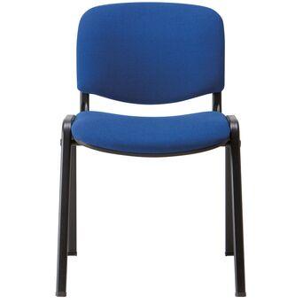 LINEA FABBRICA Cadeira de Visitante Empilhável Visi Azul