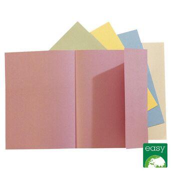 EXACOMPTA Pasta de 1 aba Nature Future® Jura 160, 200 folhas A4, 240 x 320 mm, cartão verde-suave, embalagem de 100 unidades
