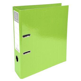 EXACOMPTA Arquivador Iderama com alavanca e mecanismo Prem'Touch® para 760 folhas A4, 320 x 300 x 70 mm, cartão com polipropileno, lima