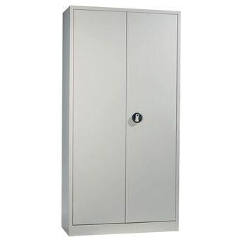 Staples Armário de Contabilidade, 100 x 198 x 42 cm, Chapa de Aço,  Cinzento