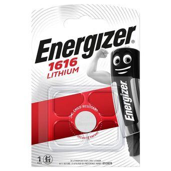 Energizer Pilha Tipo Botão CR1616, Lítio 3 V, Embalagem 1 Unidade