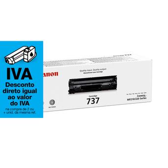 Canon Toner 737, Preto, Pacote Único, 9435B002