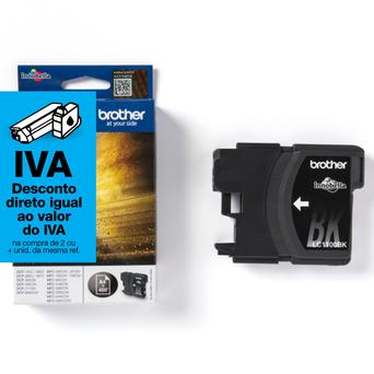 brother Tinteiro Original LC-1100, Preto, Embalagem Individual, LC1100BKBP