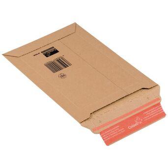 ColomPac Saqueta postal CP010 de cartão ondulado, castanho A3, 353 x 518 mm
