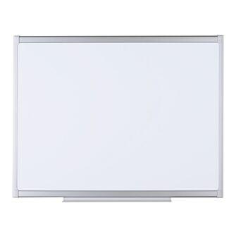 Staples Quadro branco, superfície de esmalte magnético de limpeza a seco, 90 x 60 cm