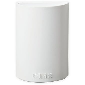 BI-OFFICE Copo de suporte para quadro branco, magnético, branco, 110 x 75 x 42 mm