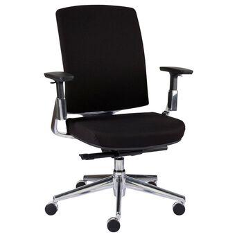 Staples Cadeira Operativa Forbes, Tecido, Preto