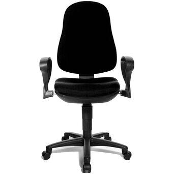 TOPSTAR Cadeira Operativa Support P, Preto