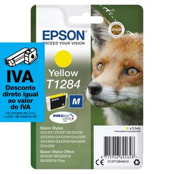 Epson Tinteiro T1284 Amarelo
