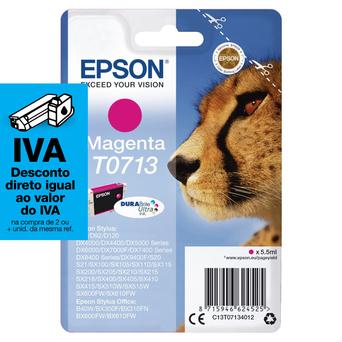 Epson Tinteiro T0713 Magenta