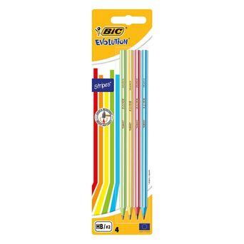 BIC Lápis HB Evolution Stripes